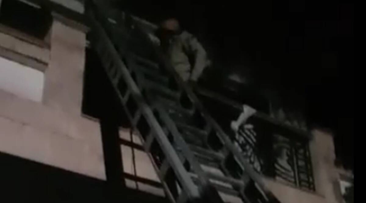 Fire breaks out at house in Delhi's Greater Kailash, 5 rescued