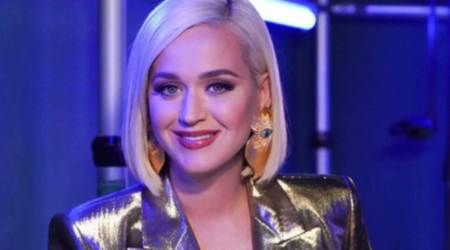 Katy Perry, Katy Perry motherhood, Katy Perry new mom, Katy Perry American Idol, Katy Perry daughter, Katy Perry shaving legs, Katy Perry working mother, Katy Perry and Orlando Bloom, indian express news