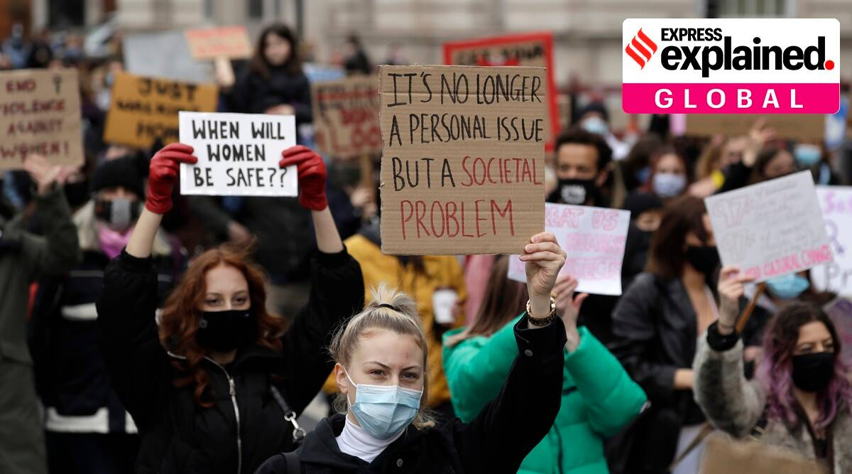 Explained: Why are thousands in the UK protesting against the new police and crime bill? - The Indian Express