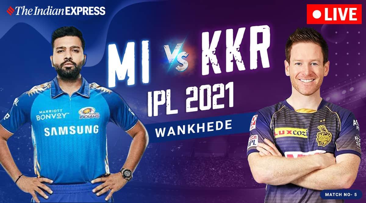 IPL 2021 Live Score, KKR vs MI Live Cricket Score ...