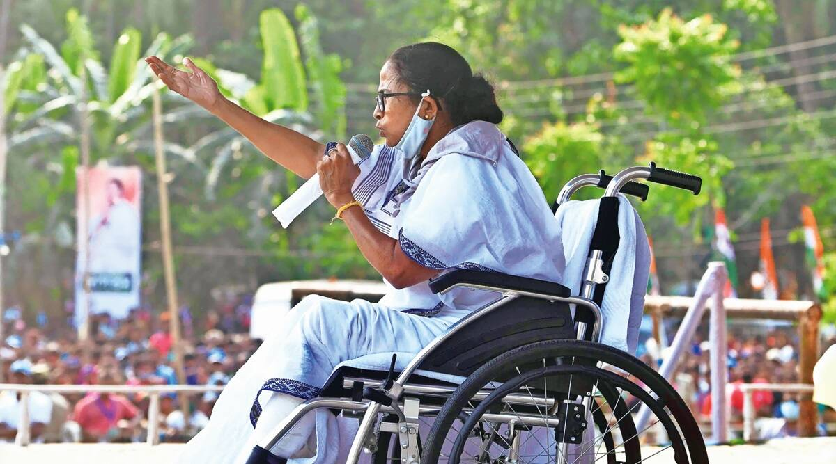 Mamata Banerjee, Election Commission, Election Commission observers, West Bengal elections 2021, West Bengal news, india news, indian express
