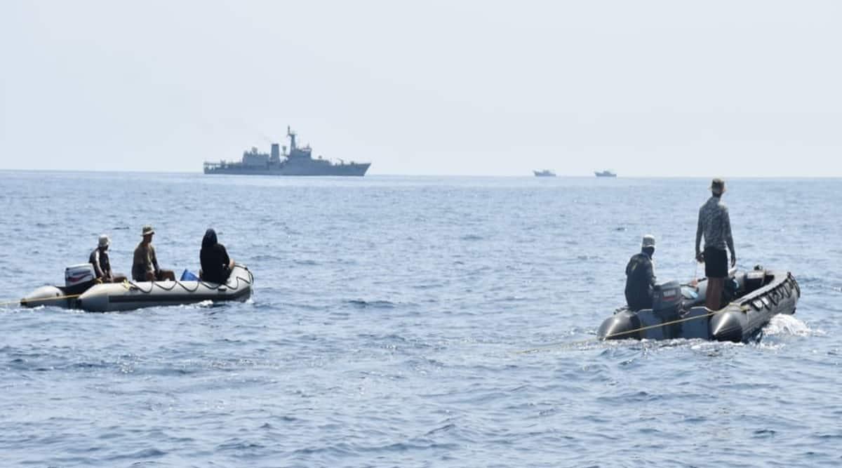 Mangaluru, search operation, missing fishermen