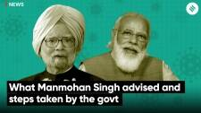 What Manmohan Singh advised and steps taken by the govt
