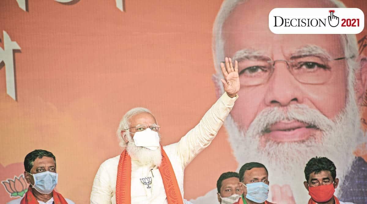 Mamata Banarjee, Narendra Modi, Nadia, West Bengal Assembly Elections 2021, election 2021, india news, indian express