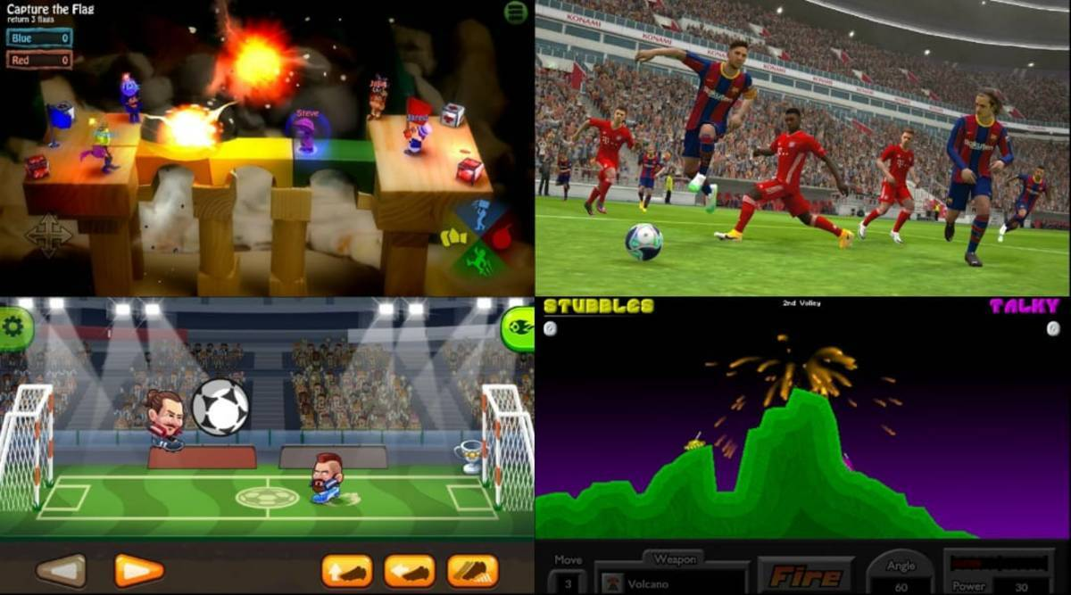 multiplayer games, Android games, smartphone games,