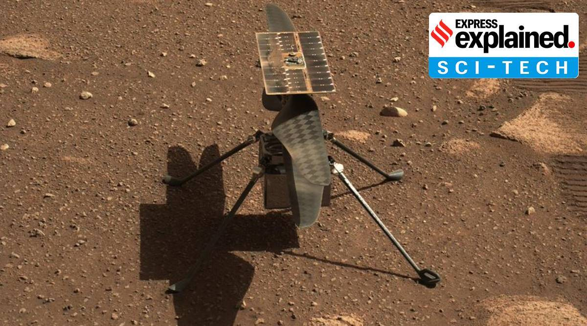 Ingenuity helicopter, MARS rover, NASA Ingenuity, NASA Ingenuity to take flight, why NASA Ingenuity mission important, indian express, express explained
