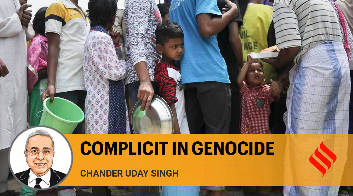 supreme court, Rohingya refugees, International Court of Justice, rohingya issue, india bangladesh relations, Rohingya crisis, Rohingya population in india, indian express opinion, Chander Uday singh writes