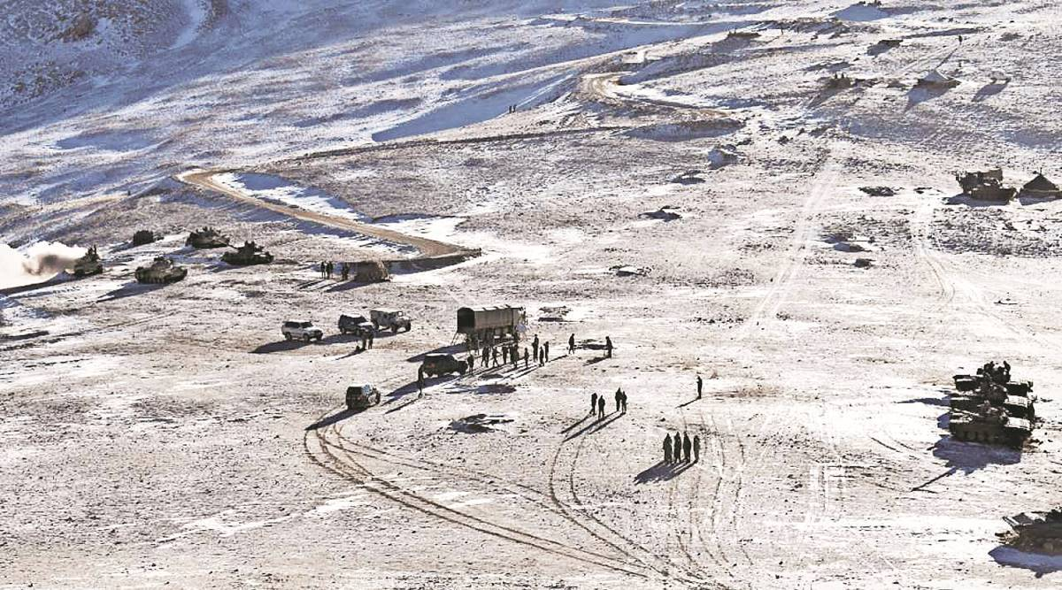 Ladakh, Line of Actual Control, Kailash range operation, Sino-Indian, eastern Ladakh, Western Theatre Commander, General Zhang Xudong, india news, indian express