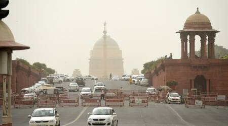 Delhi temperature, Delhi news, Delhi heat, Delhi hottest March, Delhi march maximum temperature, indian express