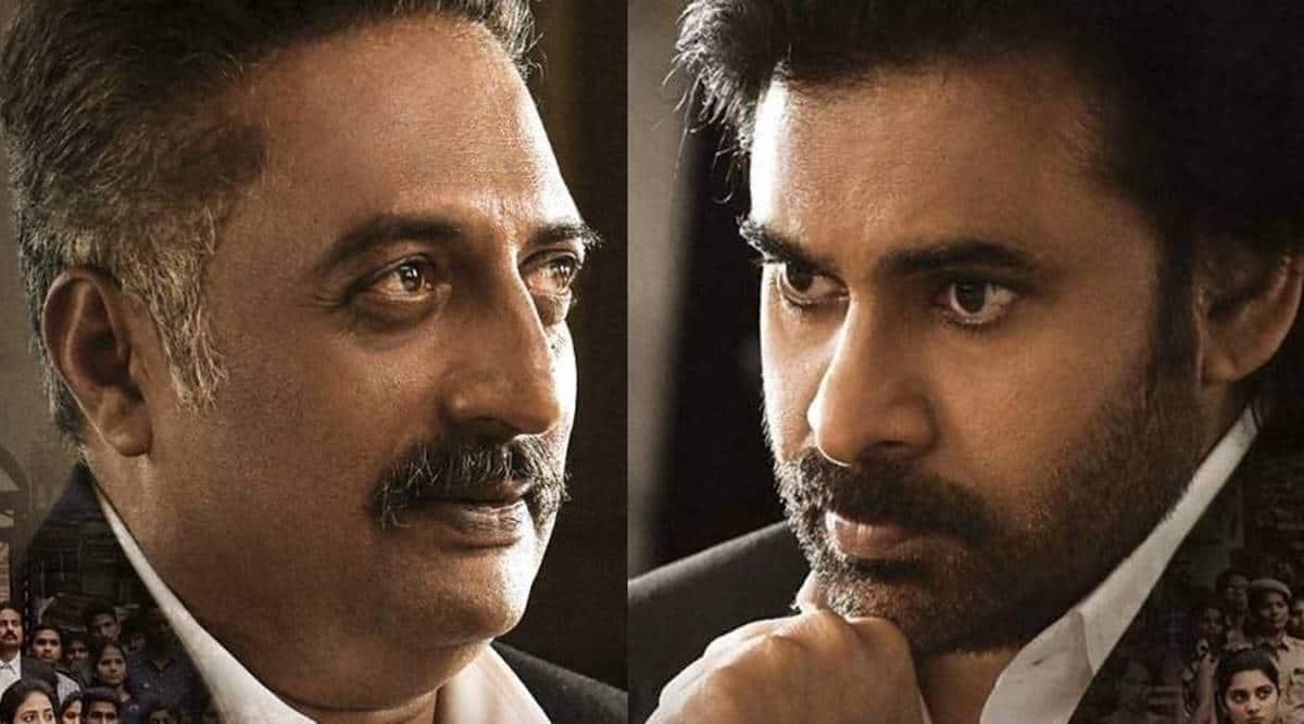 Prakash Raj and Pawan Kalyan