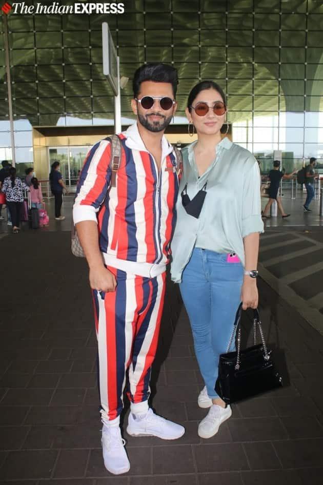 Rahul Vaidya and girlfriend Disha Parmar
