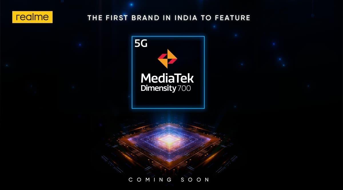 MediaTek Dimensity 700 5G, realme launch, realme MediaTek Dimensity 700, realme 5g phone, 5g phone in india, 5g phones