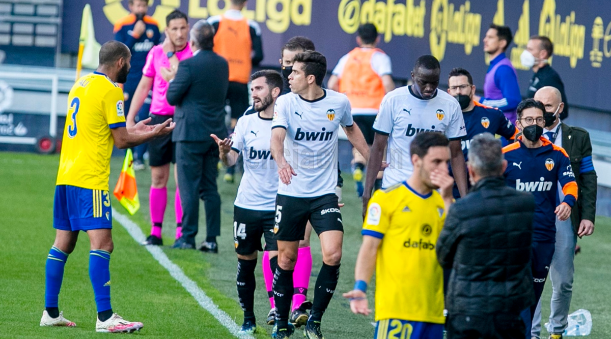 Valencia walk off pitch in protest after Diakhaby faces alleged racial  abuse during match | News Infoseries