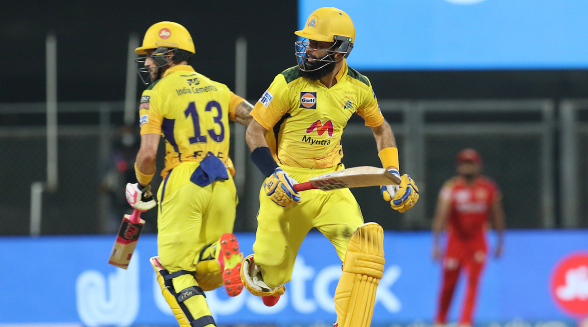 Deepak Chahar's four-for guides CSK to 6-wicket win over Punjab Kings