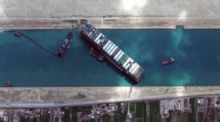 Suez Canal shipping backlog to end on Saturday: Canal authority