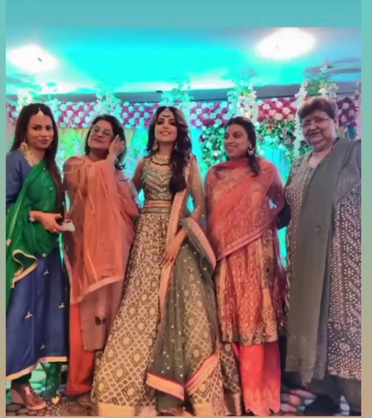 Sugandha Mishra family