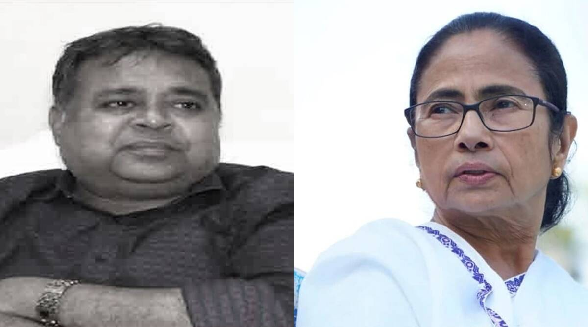Election Commission, West Bengal Assembly Elections 2021, election, TMC candidate, Khardah Assembly seat, Nandita Sinha, Kajal Sinha, indian express
