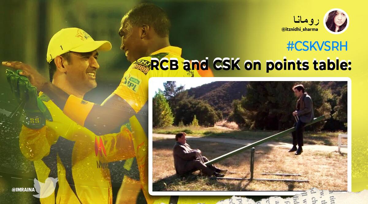 IPL, IPL 2021, IPL 2021 Twitter reactions, IPL 2021 match memes, IPL 2021 match summary, IPL 2021 match live updates, IPL 2021 match score, CSK v SRH, CSK v SRH match reaction, CSK v SRH match summary, CSK v SRH memes, IPL memes, Trending news, Sports news, Cricket news, Indian Express news.