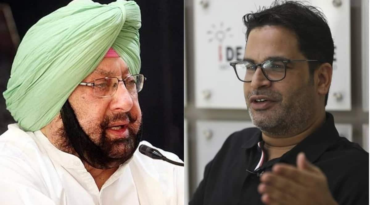 Prashant Kishor, Prashant Kishor resigns as Principal advisor to Amarinder, Amarinder Singh, Punjab CM, PK Amarinder tie, Punjab assembly elections, Punjab news, Indian express