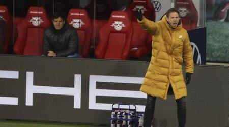 Leipzig's head coach Julian Nagelsmann , Bayern Munich coach
