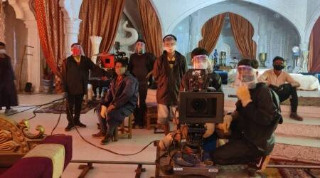 film shoots halted
