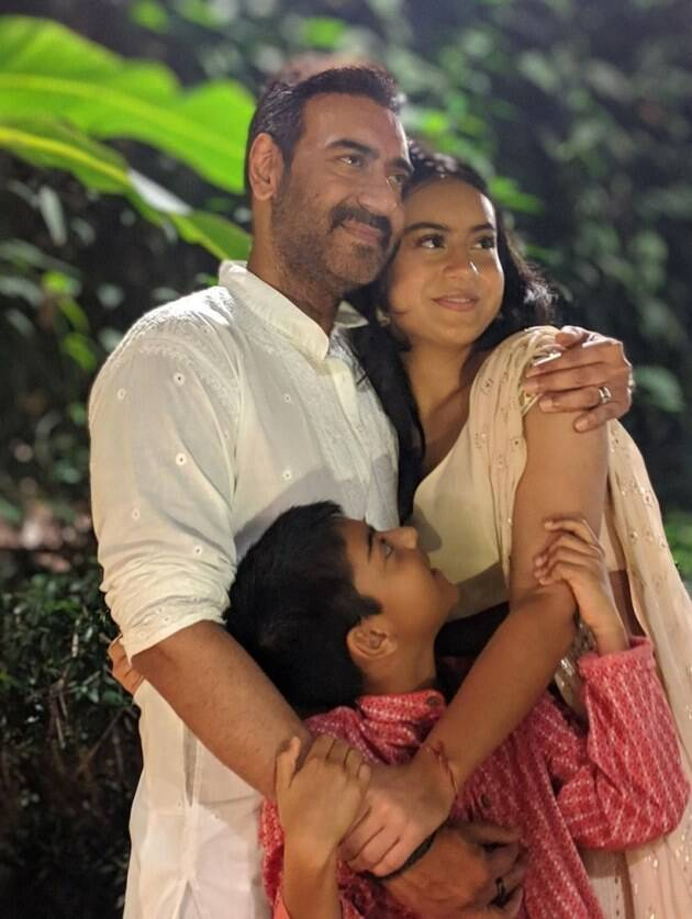 ajay with kids