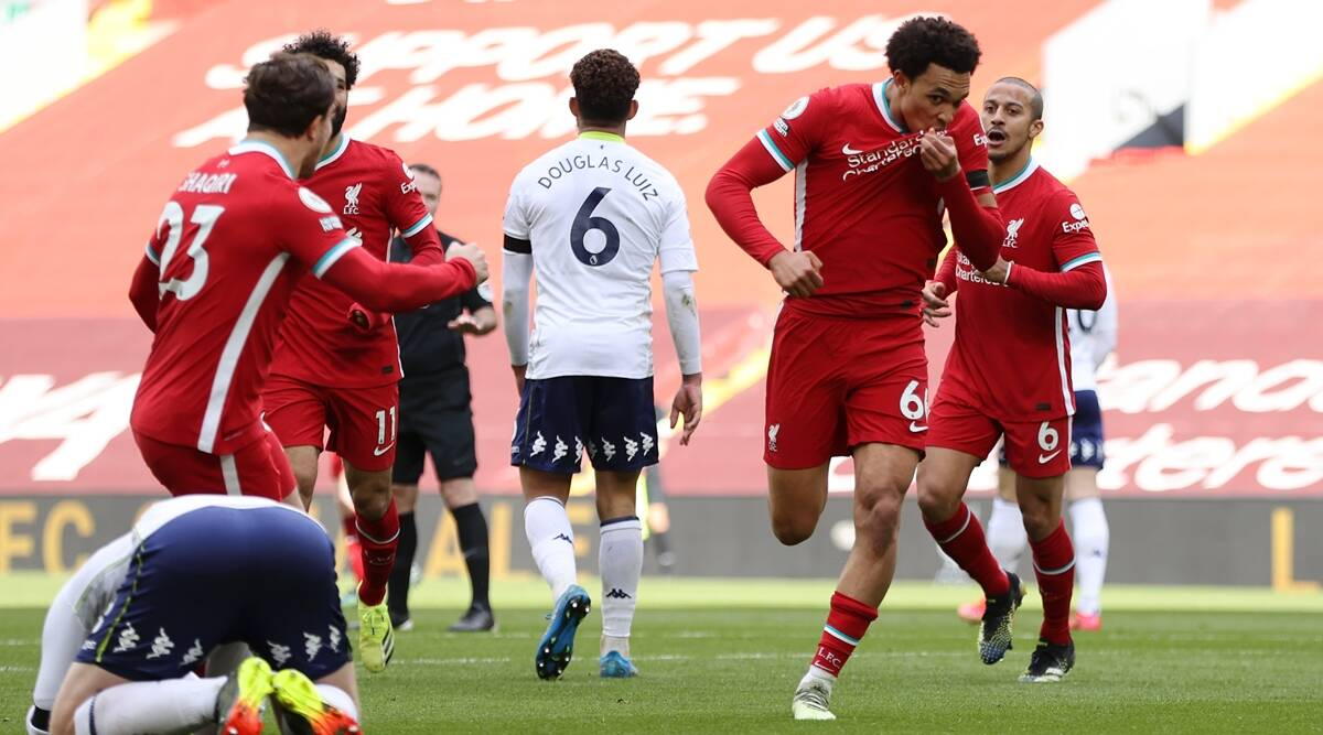 Liverpool put a stop to Anfield losing run against Villa, Chelsea score four at Palace