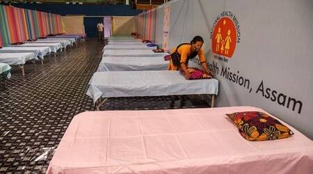 Bhutan to give India oxygen, assam oxygen bhutan, assam covid news, assam covid cases, indian express