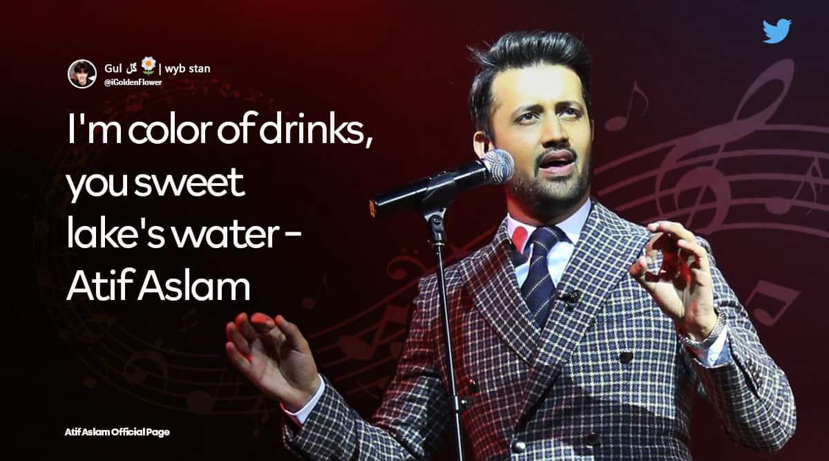 atif aslam song eng names, hindi songs english translation, atif aslam songs, pakistan viral news, funny news, indian express news