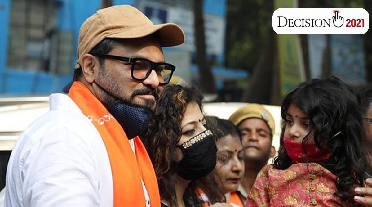 Babul Supriyo, Sujan Chakraborty, TMC, West Bengal Assembly Elections 2021, election, election news, india news, indian express