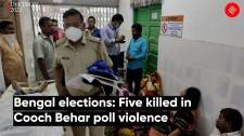 Bengal elections: Five killed in Cooch Behar poll violence