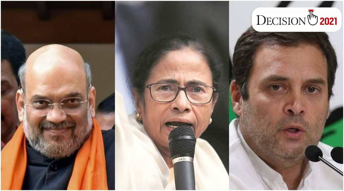 West Bengal assembly elections 2021, Mamata Banerjee, Amit Shah, Gorkha land, darjeeling, covid 29, Bengal Covid cases, bengal elections live updates, bengal 5th phase live updates, indian express