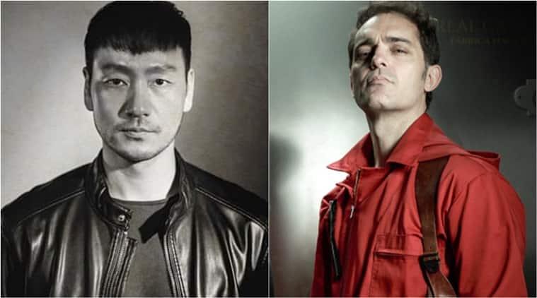 Actores coreanos robando dinero imprimieron Berlín