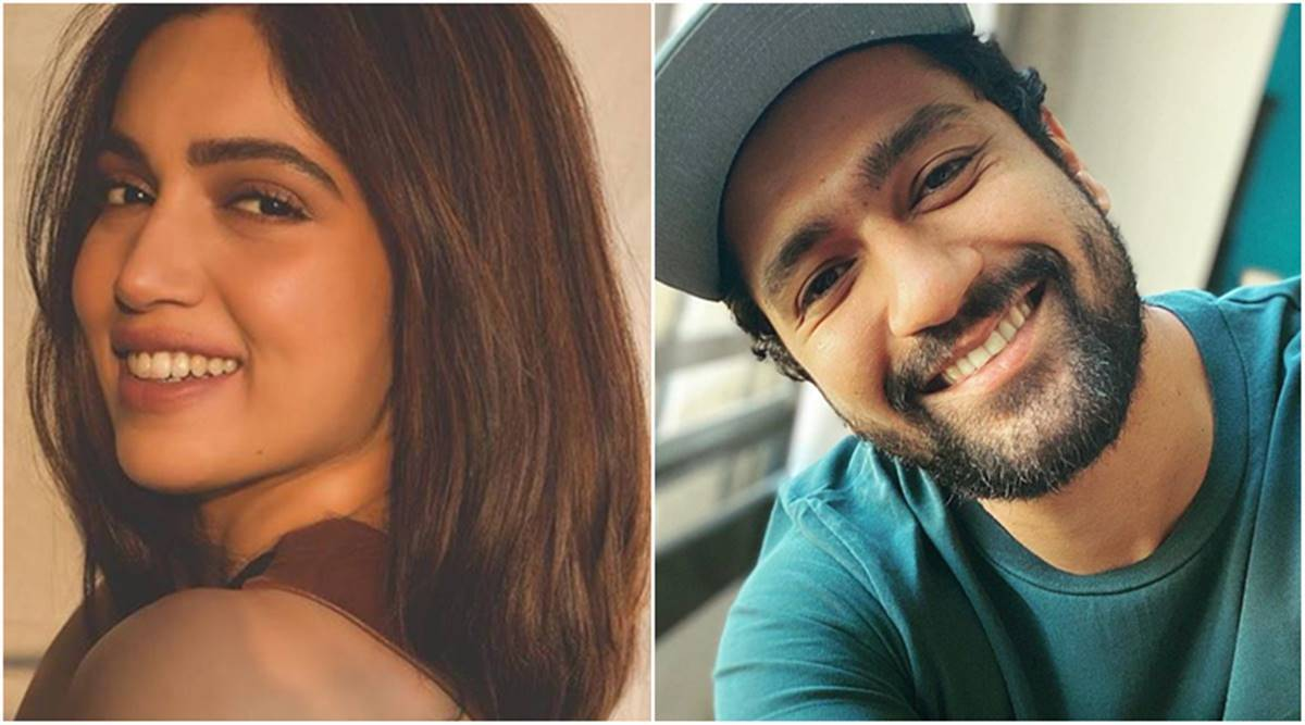 Vicky Kaushal, Bhumi Pednekar test positive for COVID-19 | Entertainment  News,The Indian Express