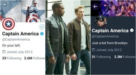 captain america twitter sam wilson replaces steve rogers