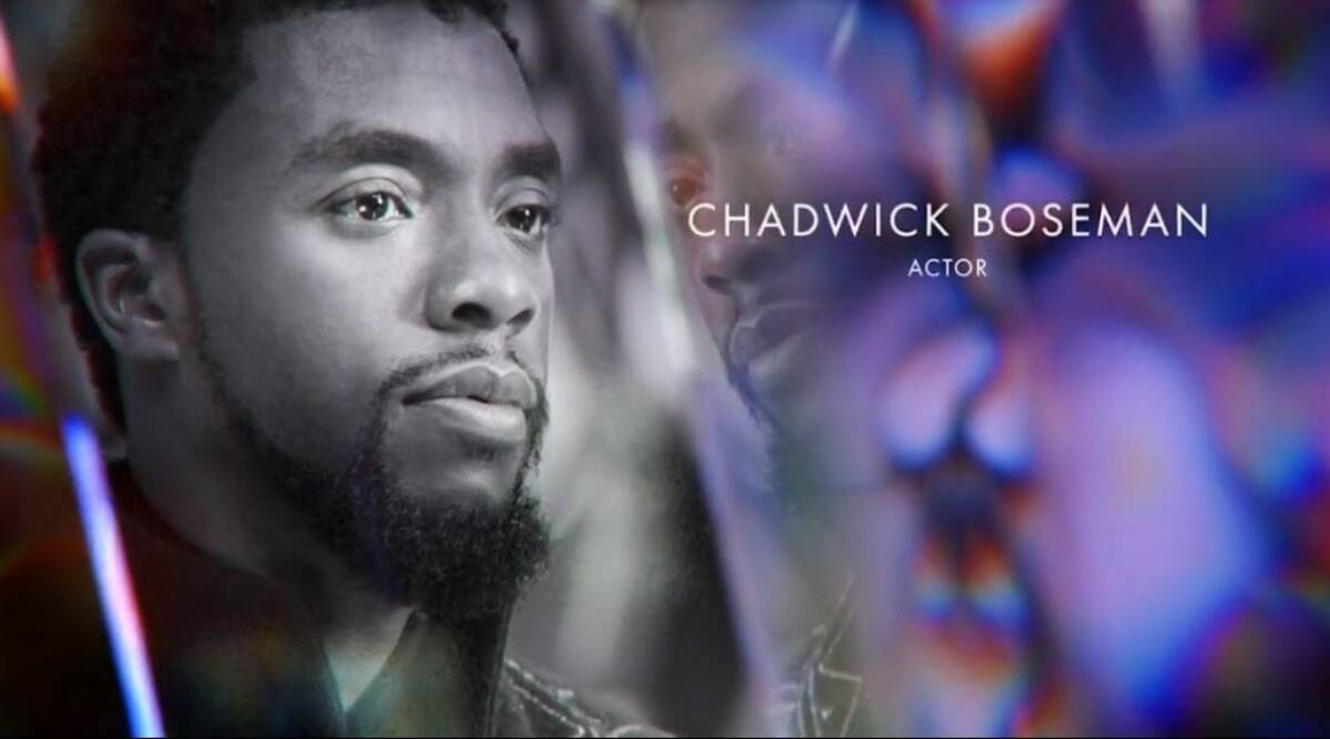 Chadwick Boseman gets snubbed at Oscars, netizens say 'completely chaotic and unhinged' - The Indian Express