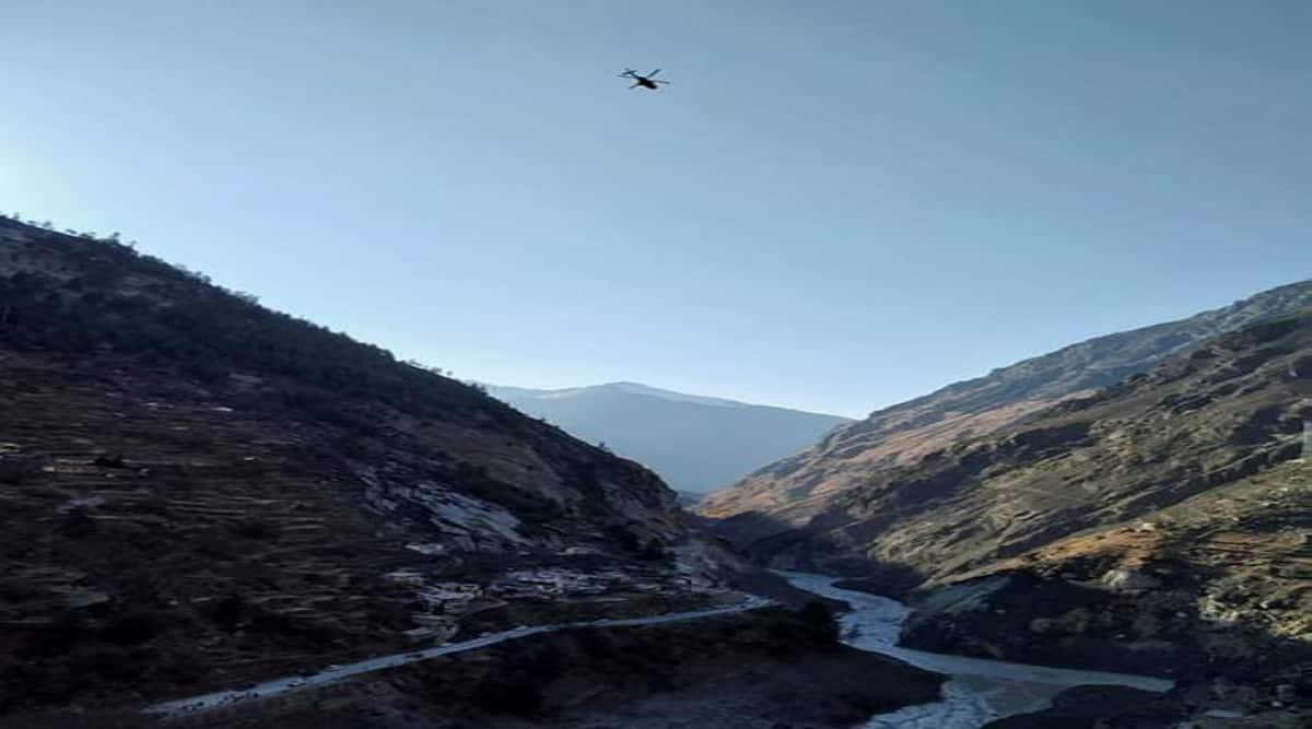 uttarakhand glacier burst, uttarakhand glacier breaks, Niti Valley, Niti Valley glacier, uttarakhand flood, tirath singh rawat, uttarakhand alert