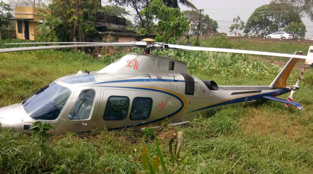 Chopper carrying Lulu Group chairman makes forceful landing near Kochi