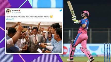 IPL 2021: It's raining memes as Chris Morris secures victory for Rajasthan Royals against Delhi Capitals