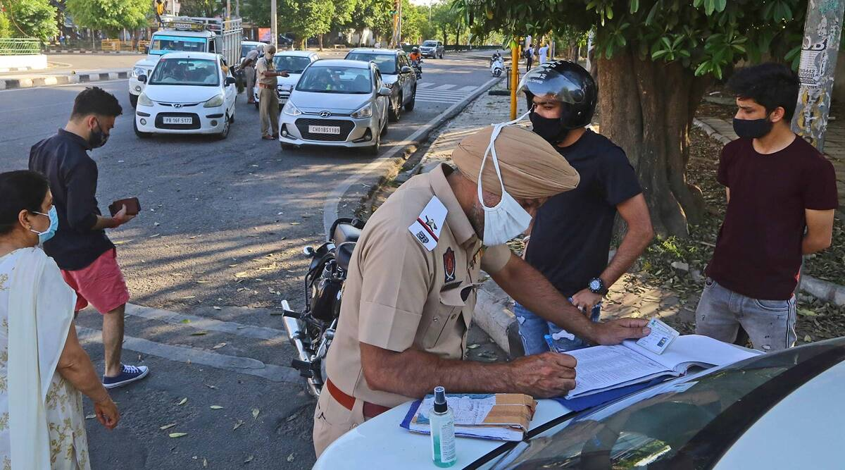 Strict Sunday lockdown in Mohali: Markets closed, no traffic on roads