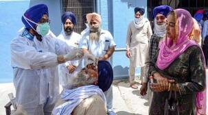 Punjab active covid cases