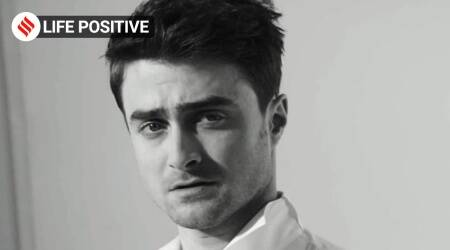 daniel radcliffe, harry pottter actor, daniel radcliffe's journey with self-awanreness, sam jones the off camera show, life positive, indianexpress, indianexpress.com