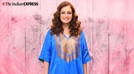 dia mirza, dia mirza pregnancy photos, dia mirza pregnant, dia mirza wedding photos, indian express, indian express news