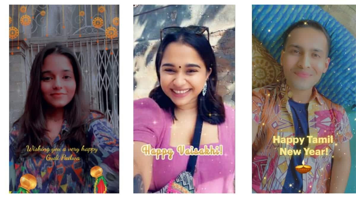 Snapchat, Snapchat new lenses, Vaisakhi, Snapchat launches lenses, Snapchat latest lenses, Pana Sankranti, Pahela Baisakh,