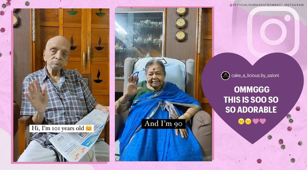 elderly couple share long marriage secret, bangalore grandparents share marriage lasting tips, karnataka couple 72 years marriage, viral videos, indian express