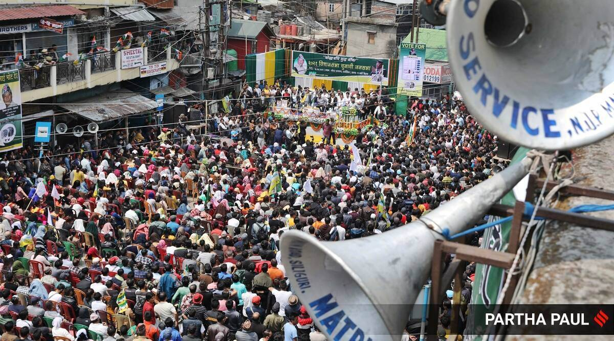 West bengal elections virtual election rallies