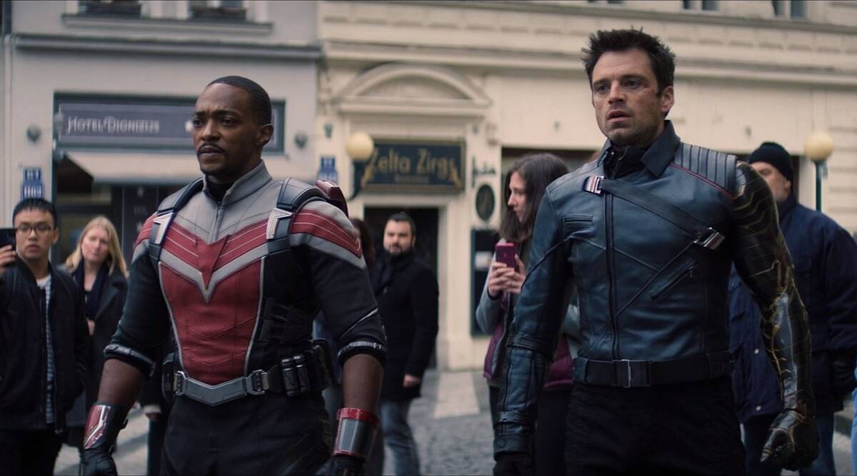 Falcon and Winter Soldier, sam and bucky