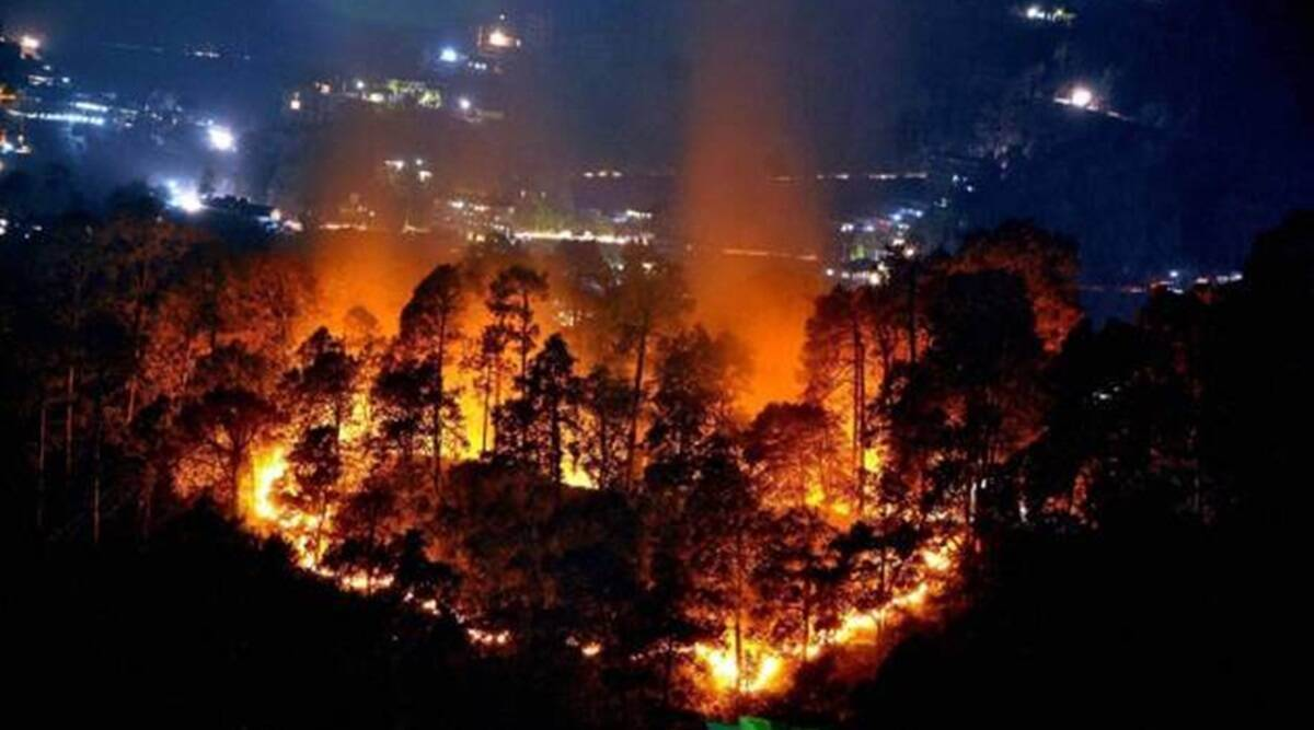 IAF chopper joins ops to douse Uttarakhand forest fire