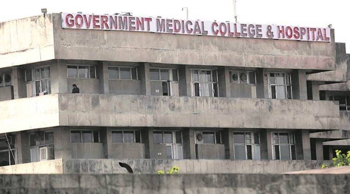 Government Medical College and Hospital, Covid patients, GMCH, COVID-19, chandigarh news, indian express