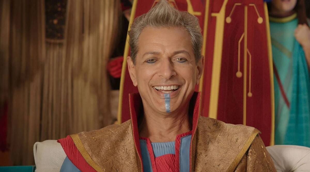 Jeff Goldblum likely to return as Grandmaster in Thor Love and Thunder as  new photos emerge online | Entertainment News,The Indian Express